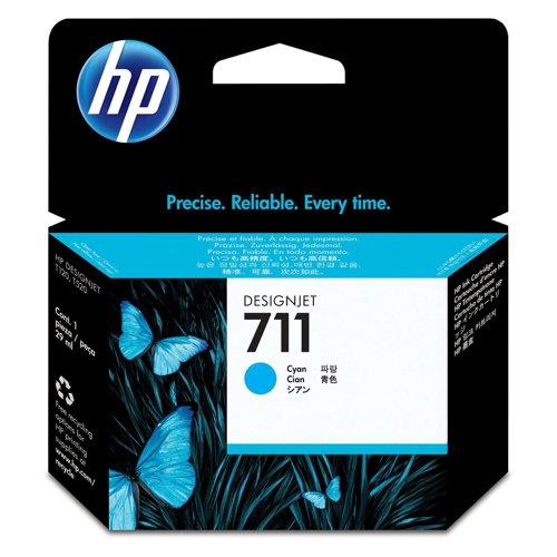HP No.711 Inkjet Cartridge Cyan CZ130A