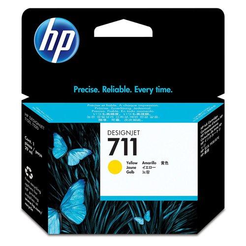 HP No.711 Inkjet Cartridge Yellow CZ132A