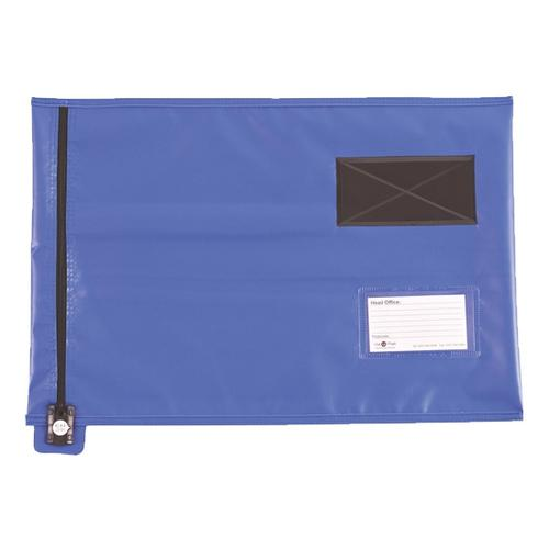 Value Flat Mailing Pouch A4 285x345mm Blue