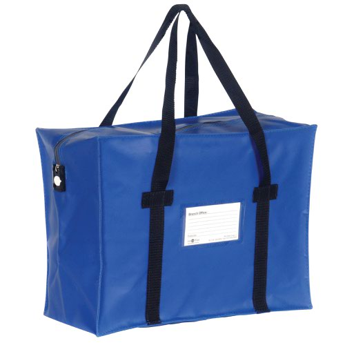Value Courier Holdall Blue