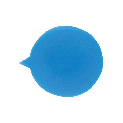 Value Round Button Security Seals Plain Blue (500)