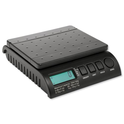 Postship Multipurpose Scales Black PS160B
