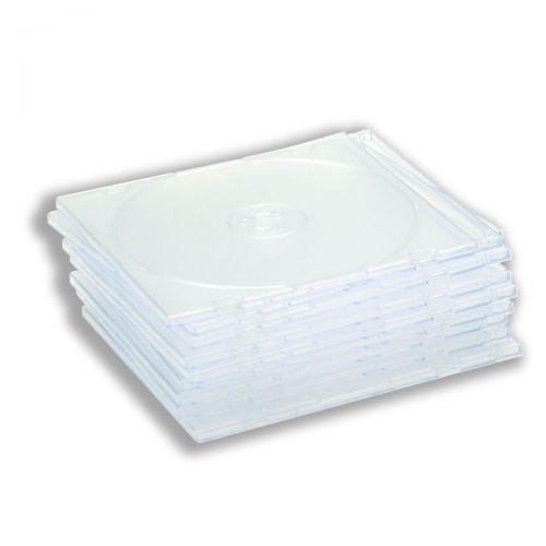 Value Slimline CD Case Clear (10)