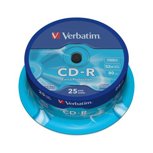 Verbatim CD-R Spindle (25) 43432