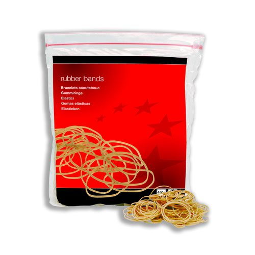Value Rubber Bands No.36 127x3mm 454g