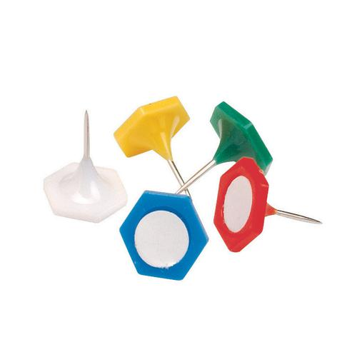 Value Indicator Pins 15mm Assorted Colours (20)