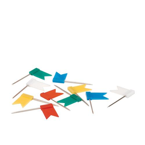 Value Marking Flags Assorted (100)