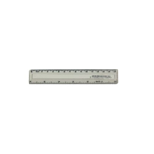 Value Plastic Ruler 150mm Clear