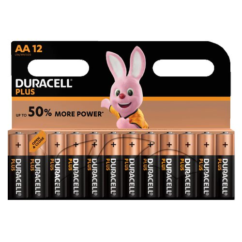 Duracell Plus Power Battery AA (12) 81362367