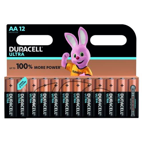 Duracell Ultra Power Battery AA (12) 81235502
