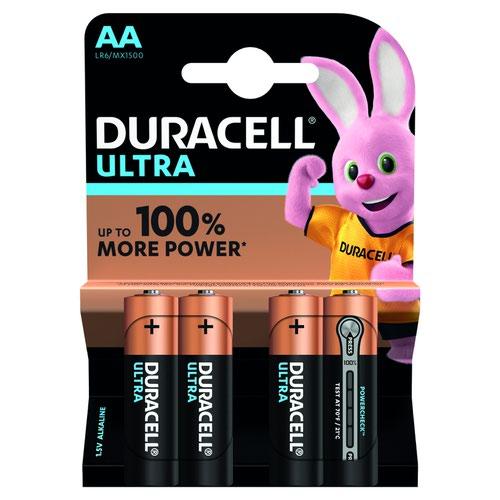 Duracell Ultra Power Battery AA (4) 81235491