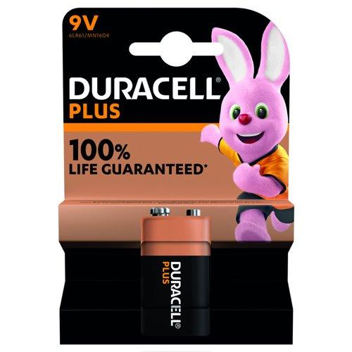 Duracell Plus Power Battery 9v 81381952