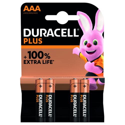 Duracell Plus Power Battery AAA (4) 81417783
