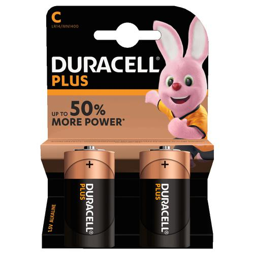 Duracell Plus Power Battery C (2) MN1400B2