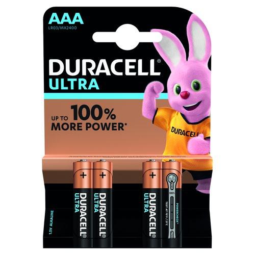 Duracell Ultra Power Battery AAA (4) 81417787