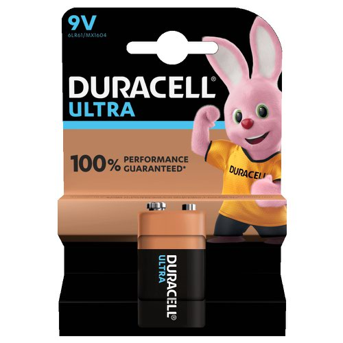 Duracell Ultra Power Battery 9v (1) 81235531