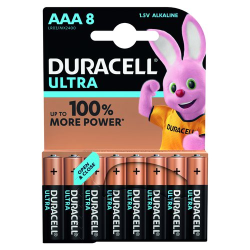 Duracell Ultra Power Battery AAA (8) 81417677