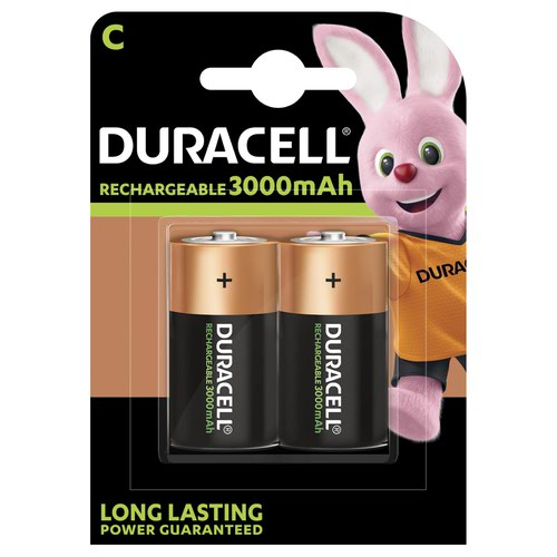 Duracell Supreme Rechargeable Battery C (2) 81364720