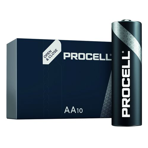 Duracell Industrial Battery AA (10) 81452400