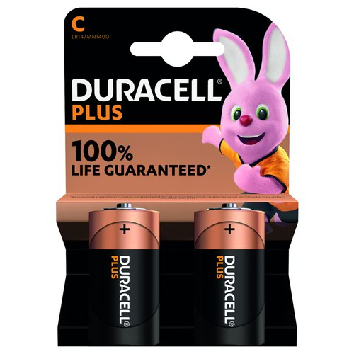 Duracell Plus Power Battery C (6) 81275434