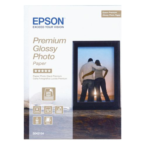 Epson Premium Glossy Photo Paper 100x150mm 255gsm (40) C13S042153