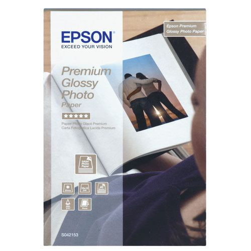 Epson Premium Glossy Photo Paper 130x180mm 255gsm (30) C13S042154