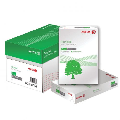Xerox Recycled Paper A4 White 80gsm (500) 003R91165