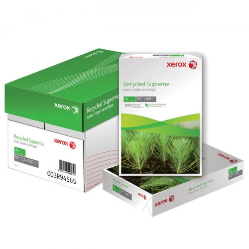 Xerox Recycled Supreme Paper A4 White 80gsm (500) 003R94565