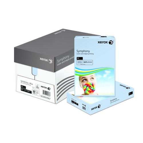Xerox Symphony Pastel Paper A4 80gsm Blue (500) 003R93967
