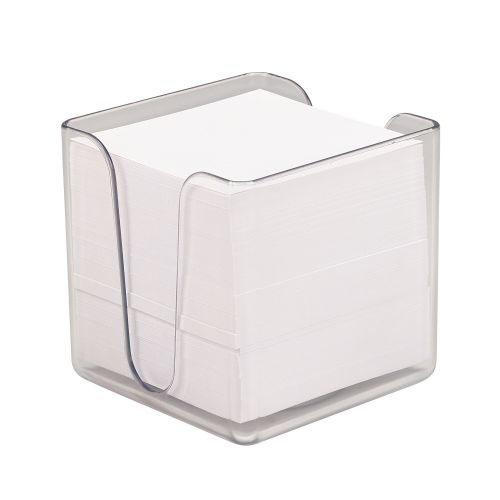 Value Notecube & Transparent Holder 90x90mm
