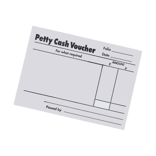 Value Petty Cash Pads