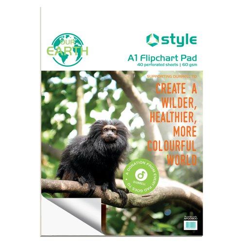 Style CORE A1 Flipchart Pad 40 Sheets
