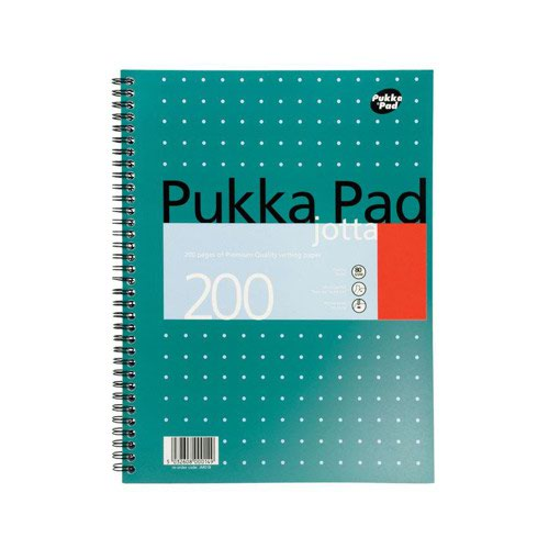 Pukka Pad Jotta Metallic Pad Ruled A4+ 200pages JM018