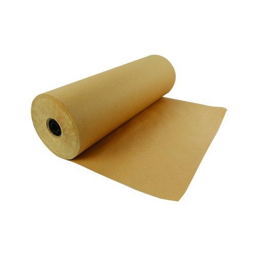 Value Kraft Paper Roll 500mm x300m 70gsm Brown