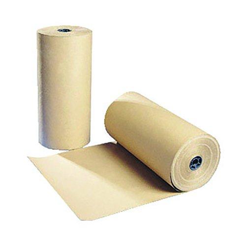 Value Kraft Paper Roll 750mm x25m 70gsm Brown