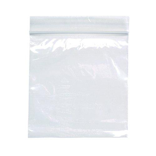 Value Grip Seal Polypropylene Bags 75x82mm (1000)
