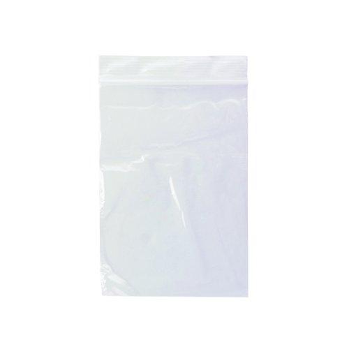 Value Grip Seal Polypropylene Bags 102 x140mm (1000)