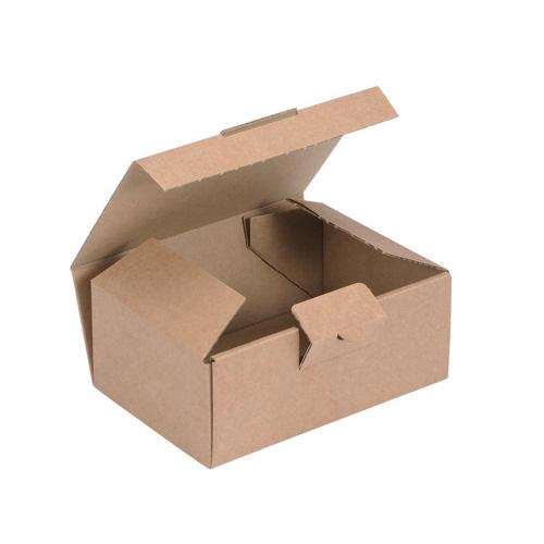 Value Easy Assembly Mailing Box 160x110x64mm Brown (20)