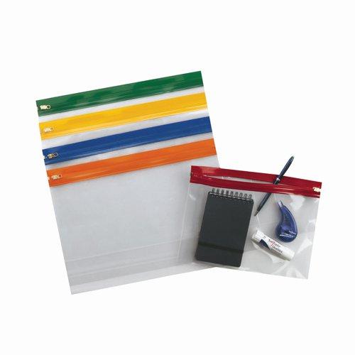 Snopake Zippa Bag S A5 Assorted (25) 12722