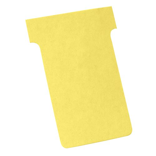 Nobo T-Cards A110 Size 4 Yellow (100) 2004004