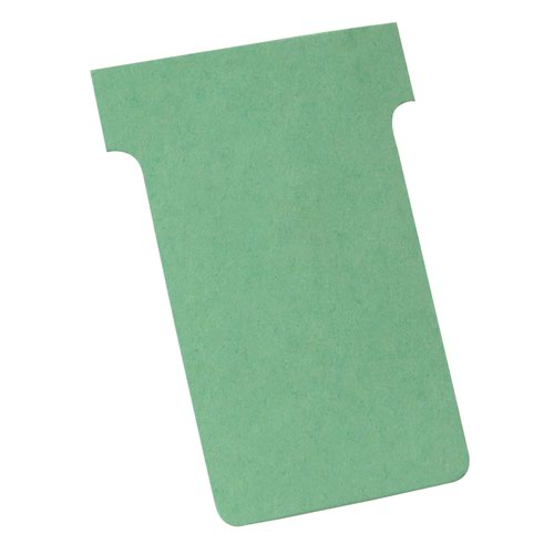 Nobo T-Cards A50 Size 2 Light Green (100) 32938902
