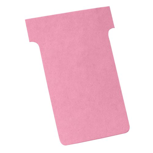 Nobo T-Cards A50 Size 2 Pink (100) 2002008