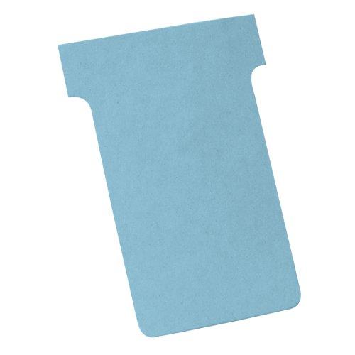 Nobo T-Cards A80 Size 3 Light Blue (100) 2003006