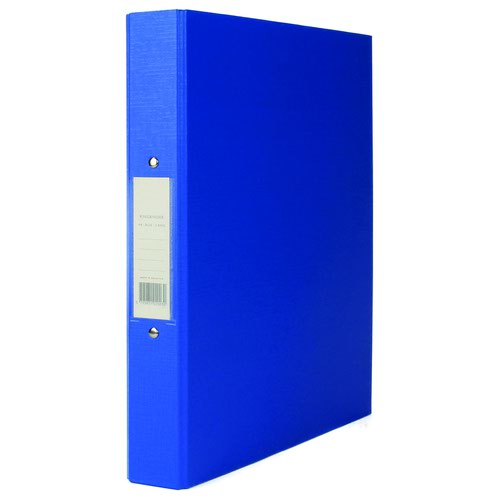 Value PVC 2 Ring Binder A4 Blue
