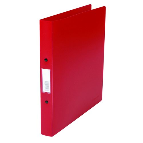 Value PVC 2 Ring Binder A4 Red