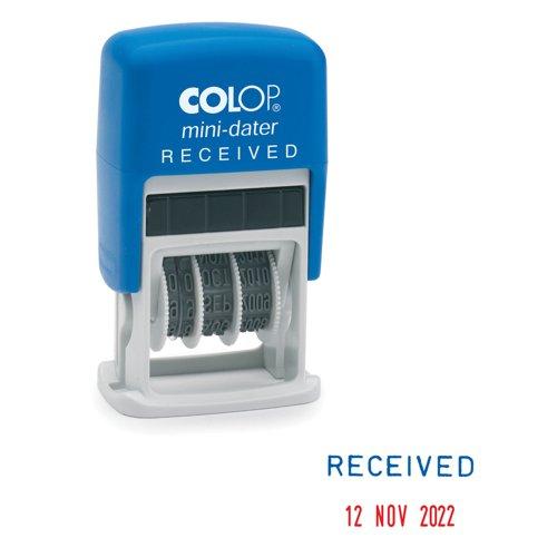Colop Mini Dater Stamp RECEIVED S160/L1