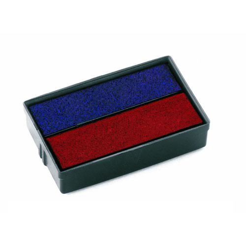 Colop E/10/2 Replacement Ink Pad Blue/Red E/10/2