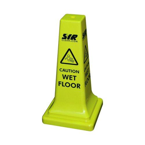 SYR Floor Sign Caution Wet Floor 21in