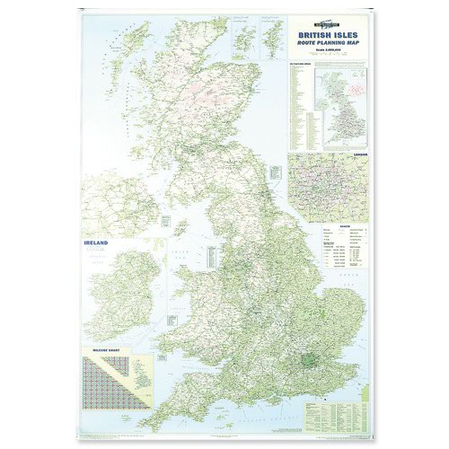 Map Marketing British Isles Motoring Map BIM