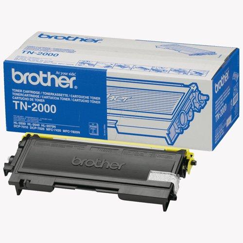 Brother Toner Cartridge Black TN2000